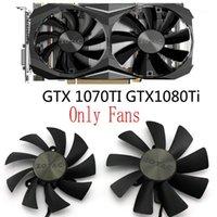 الأصلي GAA8S2U 0.45A GA9S2U 0.46A DC12V ل Zotac Geforce GTX1080TI 1070TI بطاقات الرسومات مصغرة مروحة التبريد 1