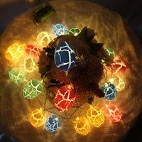 1.5 M LED Dekoracja Easter Eggs Decoration 10 / 30pcs Kolorowe Jajka Crack Light Lights String Easter Decoration for Home Kids Holiday Prezenty DDE4491