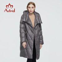 Astrid 2020 Neue Winter Damenmantel Frauen Lange Warm Parka Mode Dicke Jacke Haube Bio-Down Hight Qualität Weibliche Kleidung 65801