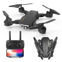 Mini RC Drone с высотой камеры, HD Drone с камерой, HD WiFi FPV Black и серая вертолетная игрушка