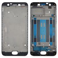 Pour OPPO A57 avant Boîtier Plate Bezel Frame LCD