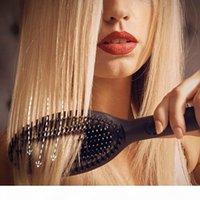 2021 جديد الإنزلاق أنيون مجداف فرشاة الشعر الهواء وسادة مشط ماركة مشط تفكيك فرشاة الشعر مستقيم الحديد 220-240V مع مربع التجزئة