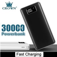 30000MAh Power Bank for Xiaomi 2 USB Powerbank Portable Charger External Battery Poverbank for IPhone7 8 X Xs Samsungn9 N8 Free Shipping