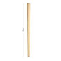 Aço Inoxidável 304 Chopsticks Praça Chopsticks talheres Home Hotel Simples Estilo Louça 23 * 7cm grátis DHL Shipping PPF2275