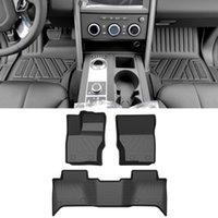 Land Rover Discovery 5 L462 2017-2020 Araba Paspaslar Tüm Hava TPE Ayak Paspaslar Pad Su Geçirmez Tepsi Mat İç Aksesuarları