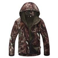 TAD Jacket V5.0 Tactical Men Jacket Soft Shell Waterproof Windproof Outdoor Men Army Fleece Hiking Camping Coat