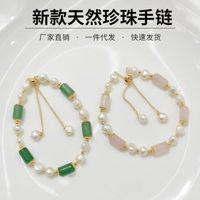 Braccialetto a due colori con bracciale versatile con bracciale da donna in cristallo a due colori cristallo a due colori