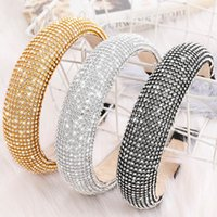 New Arrival Extreme Luxury Women Hair Jewelry Headbands Full...