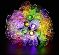 Dize Işık 20 LED Güneş Lambaları Su Geçirmez Açık Çan Peri Bahçe Ağacı Çan Yeni Yıl Bahçe Dekorasyon Toptan Dropship DDE4014