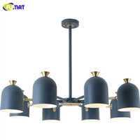 FUMAT Nordic Creative Individual Ceiling Lamp Modern Simple Color Bedroom Study Dining Room Lights Living Room Chandelier