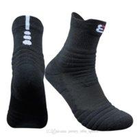 21 Mode Chaussettes de sport en plein air Sweat de coton pour hommes marchant à pied Cyclisme serviette de basketball Baskettel Fond Chaussettes désodorisées confortables
