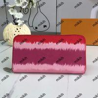 Mode Womens Portefeuille Classic Lettre d'impression Logo Design Porte-monnaie haute qualité Casual Top Dame Portefeuilles