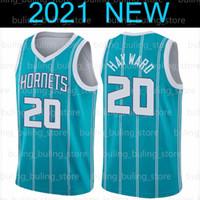 2020 2021 Yeni CharlotteHornetsWashingtonSihirbazlıklarGordon 20 Hayward Russell 4 Westbrook Lamelo 2 Top Basketbol Forması