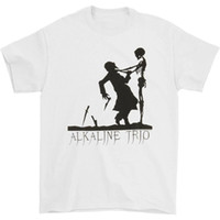 Alkaline Trio Men'S Knives T-Shirt Small White 888700600832 Humorous Tee Shirt sport Hooded Sweatshirt Hoodie