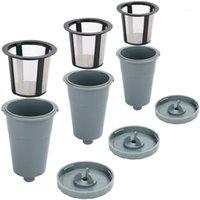 Hot Yo-wiederverwendbarer Filter, Kaffeefilter wiederverwendbare K-Tassen für Keurig Fit für B30 B40 B50 B00 B70 B70 B70 B70 B70, einfach zu bedienen