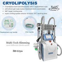 Cryolipolysis Lipo Freeze Fat Body 슬리밍 체중 감량 벨트 안전한 과학적 아름다움 기계가 몸을 형성