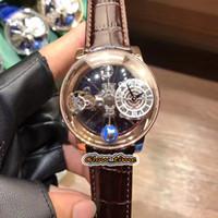 Versão estática Epic X Chrono Cr Crono Toursony Tourbillon Esqueleto Aventurine Dial Swiss Quartz Mens Assista Rose Gold Case Designer Relógios