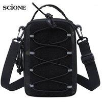 Наружные сумки тактические сумки пояса талия пакет сумка маленький карман бегущий путешествие кемпинг измениться мягкий обратно X195A1