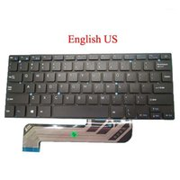 Laptop RU US UK LA PL Teclado para IRBIS NB44 XK-HS002 MB27716023 Latina polaca Rusia Reino Unido Inglés Negro New1