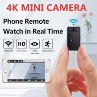 Cámaras 4k mini cámara nube ip wifi inteligente inalámbrico visión inalámbrica punto hd visión nocturna cctv video vigilancia pequeña cámara
