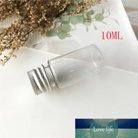 20ML portatile vuoto vaso cosmetico contenitori di vetro bottiglia campione con alluminio Cap Piccolo Shampoo trucco bottiglie riutilizzabili