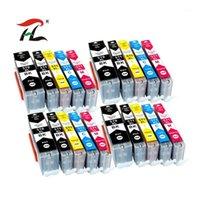 Cartuchos de tinta 20pk pgi-570xl pgi570 570xl pgi-570 cli-571 cartucho compatível para canon pixma mg5750 mg5751 mg5752 mg5753 mg6850 impressora1