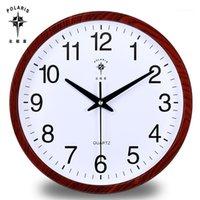 Большие настенные часы современной моды короткая кухня безмолвная бытовые тихие европейские гостиной спальня часы часы стены дома декор1