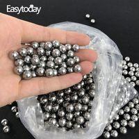 EasyToday 200pcs / lot 10mm 강철 공 Catapult Slingshot 사냥 슈팅 Slingshot 고탄소 Catapult Ammo Accessorie 201111