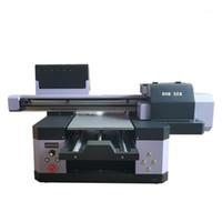 Impressoras comerciais da máquina de impressão do jato de inkjet da máquina de impressão de Domsem UV 300 × 600mm para a impressão da pena de lápis acrílico 120mm Altura1