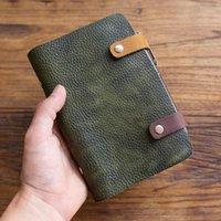 Handgemachte Vintage Reisende Journal Notebook Echtes Leder Retro Note Buch Tagebuch Cindhide Skizzenbuch Weihnachtsgeschenk1