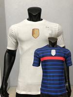 2020 2021 لاعب نسخة لكرة القدم الفانيلة Pavaro فرنسا Thauvin Kimpembe فاران Kante Mbappe Girour Grizmann 20 21 Football Player Shirt