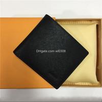 Top High Quality LWAllet Paris Plaid Style Designer Mens Wallet Wallet Wallet Siger S DISEÑA S ANIMAL G Wallets con caja de aire libre 899
