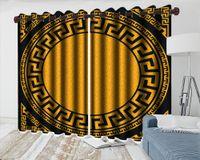 3D кухонные шторы шаблон складные занавески красивый круговой узор современный красивый окно 3d занавес