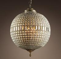 Vintage Cilalar LED Kristal Avize Kapalı Aydınlatma Oturma Odası Yatak Odası Avizeler için Deco Salon Lamba Nordic Işık Fikstür