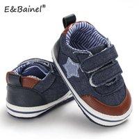 EBAINEL Baby Schuhe Klassische Leinwand Baby Schuhe Sneaker Nähen Weiches Boden Anti Slip Toddler Neugeborenen Erster Wanderer Prewalker1