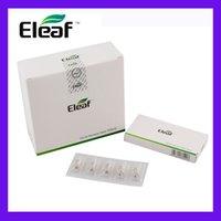 100% Оригинал ELAEF GS AIR ATOL APTORIZER Головка Чистая хлопковая головка 0,15OMM 1.2OHM 1.5OHM катушки подходит для Istick Basic Kit GS-Air 2 распылитель DHL DHL