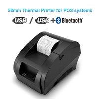 Тепловой принтер Mini 58mm USB-принтер для получения принтера для резаунтировочного супермаркета.