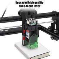 Drucker Holzschneider Carving Desktop Lasergraveur 20w CNC Graviermaschine Für Acryl Leder MDF Logo Bild DIY Grlen Control