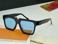 2371 Популярные солнцезащитные очки для мужчин Квадрат Полный кадр Высочайшее Качество Мода Adumbral Солнцезащитные Очки УФ Защита Линза Очки Goggle с коробкой Z2371