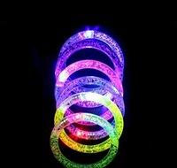 LED Light Up Braccialetto Lampeggiante Braccialetto di cristallo incandescente per discoteca Concert Prop Di Natale Decorazione di Halloween Bbygvo Soif