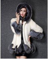 Pelliccia da donna FAUX URUMBASSA DONNA Fashion Slin Slin Coat 2021 Autunno / Inverno riscaldato S-4XL Plus Size Chic Elegante Topcoat bianco