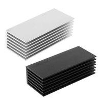 팬 냉각 1Set NVME M.2 NGFF SSD 솔리드 스테이트 하드 드라이브 디스크 용 1SET 1SET 히트 싱크 냉각 열 패드 라디에이터 냉각기