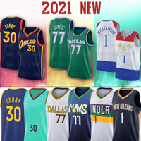 NCAA 77 Luka Curry Doncic New 30 Stephen Jersey Zion 1 Williamson Basketball Jerseys