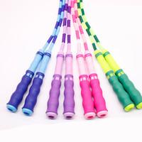 Kinder spezielle Springseil Bambus-Stile einstellbar Länge Springseil für Kindergarten Kinder Ottie