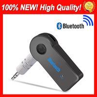 Mic ile PSP Kulaklık Oto Takımı A2DP Ses Müzik Alıcısı Telefon Adaptörü Handsfree için% 100 Fit Universal Araç Bluetooth Alıcı AUX 3.5mm