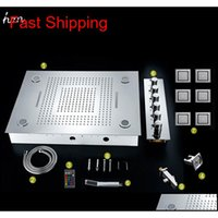 Set doccia moderno Desigh 600 * 800mm Telecomando a distanza Cambia colore Led Incorpora soffione doccia Set Qylmot BDesports