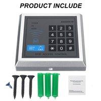 125kHz 독립형 액세스 컨트롤러 + 10pcs EM Keychains RFID 액세스 제어 키패드 디지털 패널 카드 리더 도어 잠금 시스템 용