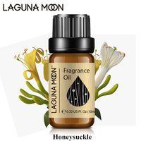 Lagunamoon madressilva 10 ml fragrância óleo fresco linho mar brisa cal coco baunilha parma violeta natural planta óleo