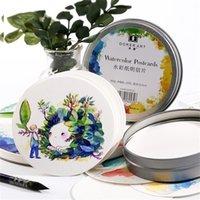 Livre aquarelle peinte à la main à l'aquarelle de 300 g / m2 pour la peinture School Art Fournitures 201225