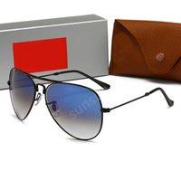 RayBan RB 남성 브랜드 디자이너 선글라스 남성 편광 선글라스 하이 엔드 비즈니스 편광 선글라스 최고 품질의 안경 무료 배송